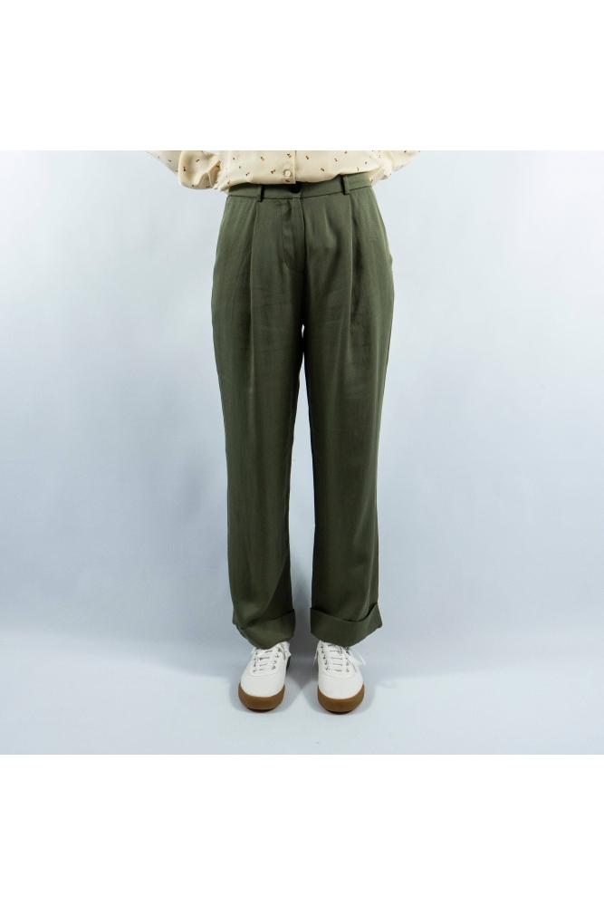 pantalon pavarti kaki frnch la boheme on line palencia