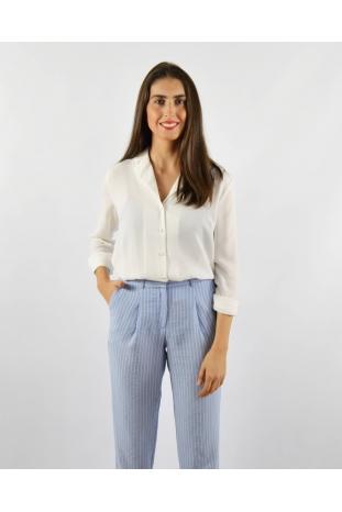 pantalón prince azul rayas la boheme online palencia