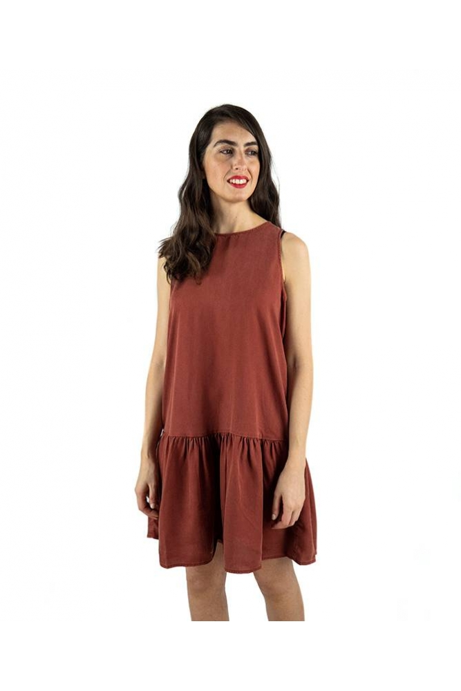 vestido emilia teja noisy may online la boheme palencia envio gratis