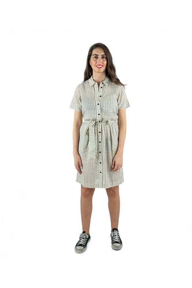 vestido hermine cuadros noisy may online la boheme palencia envio gratis