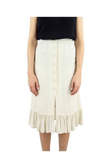 falda withfrill beige volante pepa love online la boheme palencia envio gratis