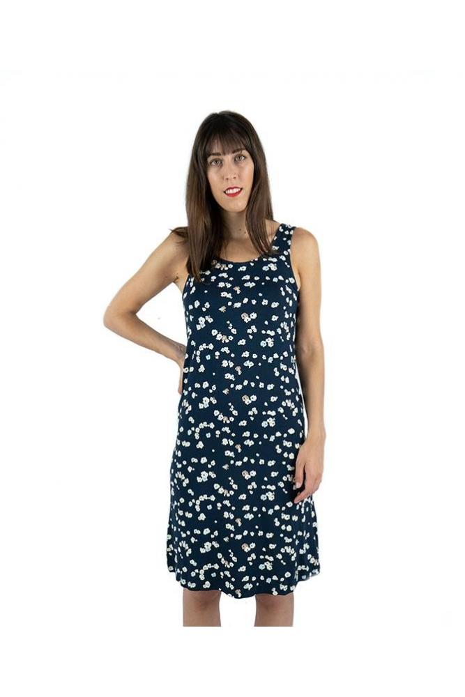 vestido lisa flores ichi online la boheme online palencia