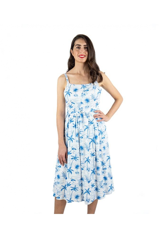 vestido tallulah hawaii flamingo sugarhill brighton online la boheme palencia