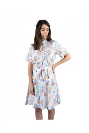 vestido camisero patchwork compañia fantastica online envio gratis la boheme palencia