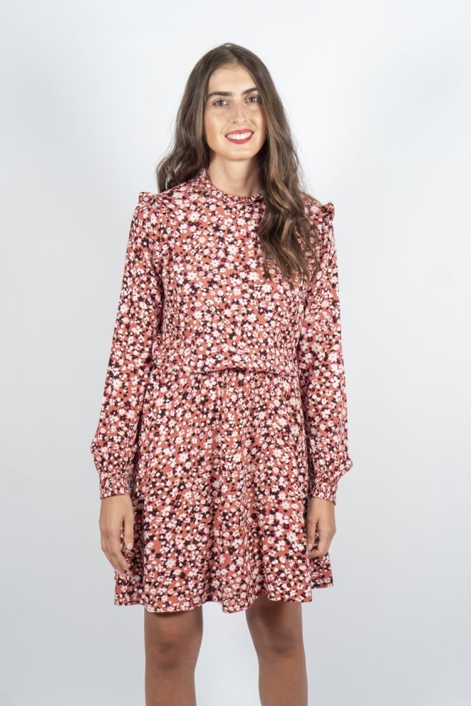 vestido fira flores byoung envio gratis la boheme palencia