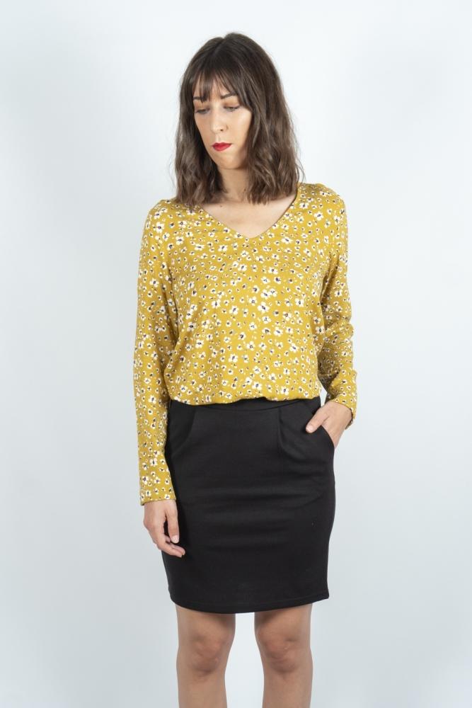 blusa vera bronze mist ichi la boheme palencia