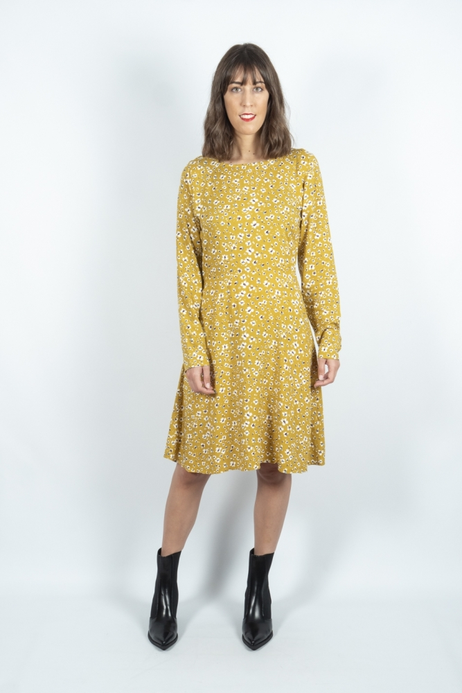 vestido ichi vera bronze mist la boheme palencia