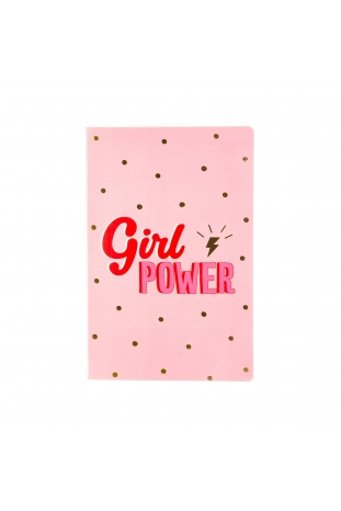 LIBRETA GIRL POWER A5