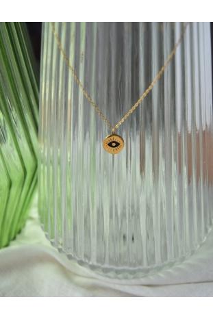 collar ojo turco esmalte acero