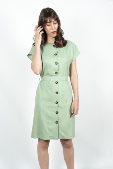 vestido verde menta pepa loves la boheme palencia
