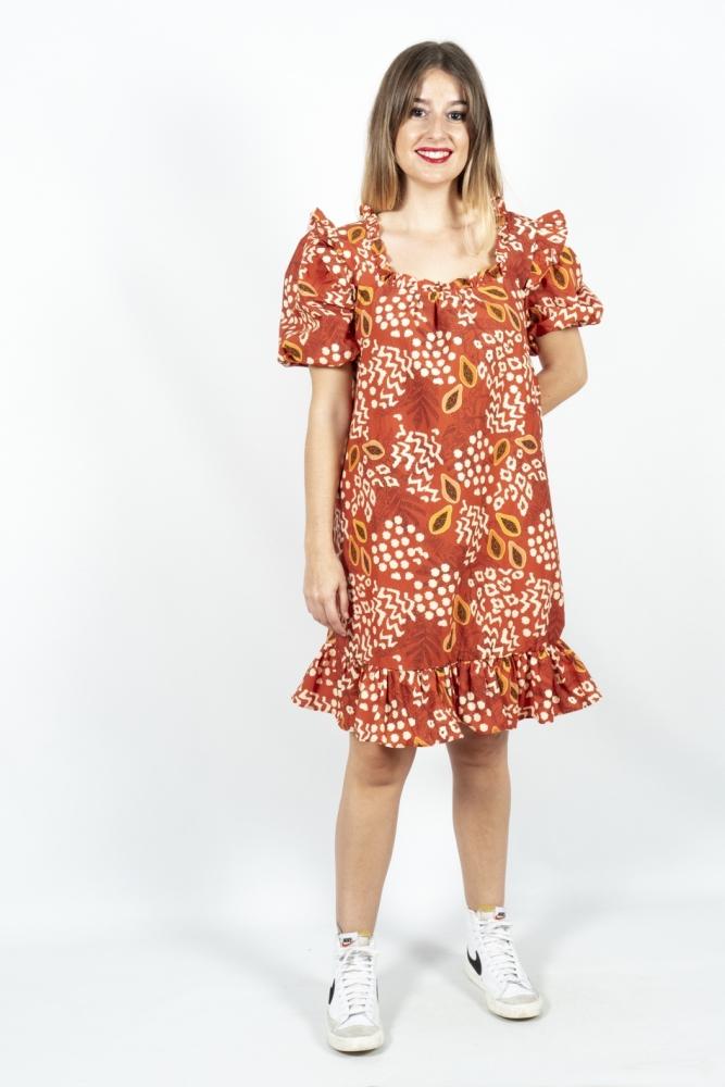 vestido papayas guimanos la boheme palencia
