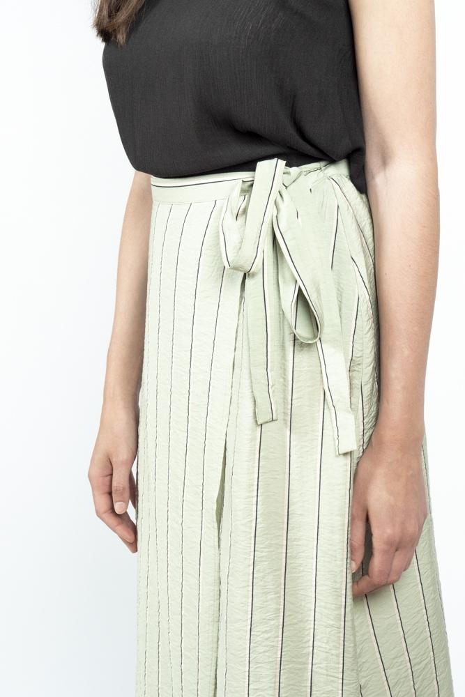 falda midi menta falala ichi la boheme palencia