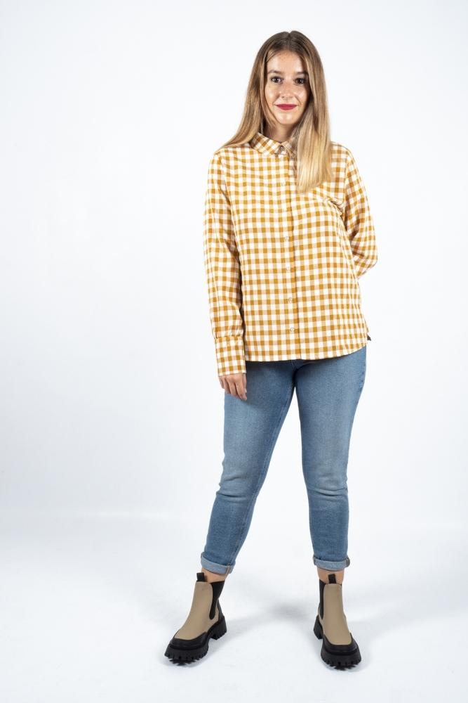 camisa elizabella cuadros ichi la boheme palencia