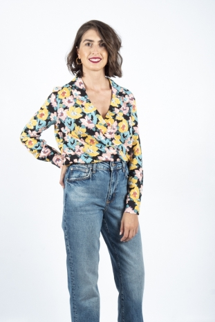 camisa floral pepa loves la boheme palencia