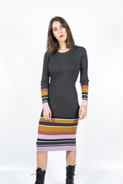 vestido mafa rib ichi la boheme palencia envio gratis