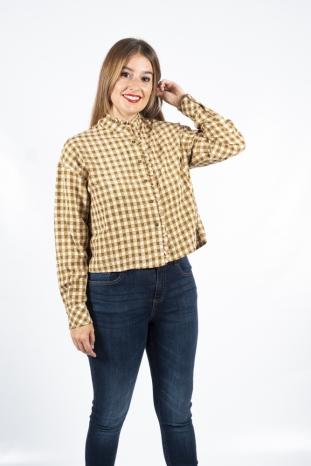 camisa cabanac cuadros  frnch la boheme palencia