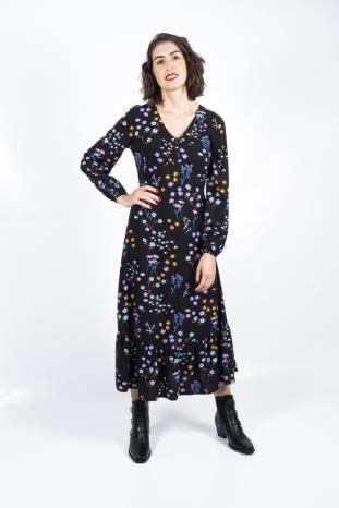 vestido petra floral sugarhill brighton la boheme palencia