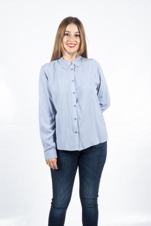 camisa josa azul stonewash boyung la boheme palencia